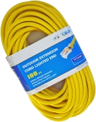 10 Gauge 100 Ft. SJTW Yellow Cord