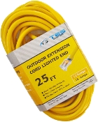 12 Gauge 25 Ft. SJTW Yellow Cord