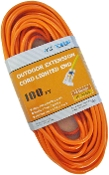 16 Gauge 100 Ft. SJTW Orange Cord