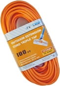 16 Gauge 100 Ft. Triple Tap SJTW Orange Cord