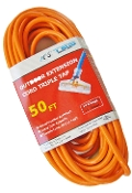 14 Gauge 50 Ft. Triple Tap SJTW Orange Cord